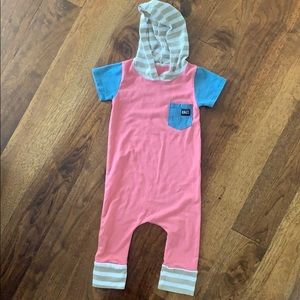 Rags to Raches short sleeve jumper 6-12 months